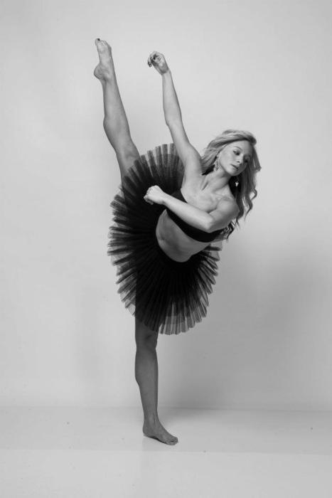 ballerina, ballet, black and white, dance, mollee gray