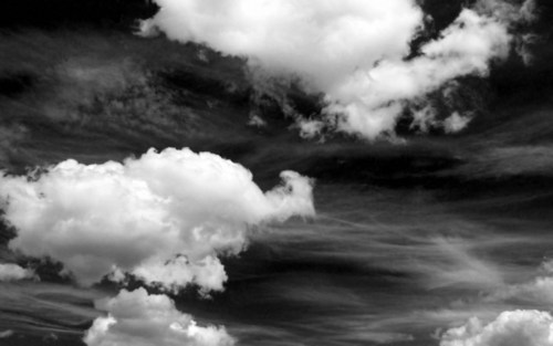 b&w, beautiful, black & white, black and white, cloud, clouds, landscape, nature, photo, photography, sky