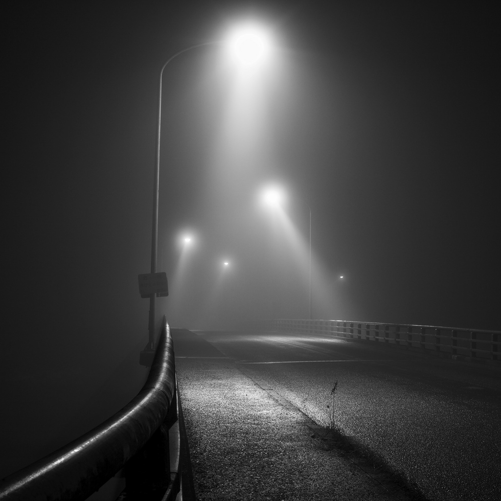 b&amp;w, beautiful, black and white, fog, light