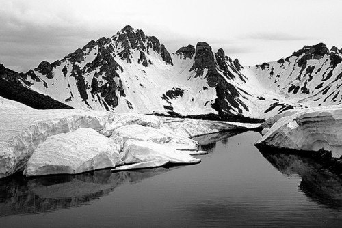 b&w, black & white, black and white, cloud, clouds, landscape, mountains, nature, photography, sky, water