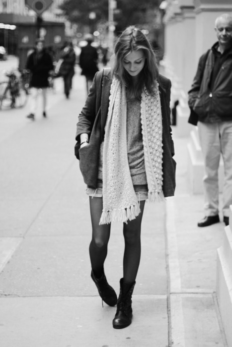 b&w, black and white, boots, casual, chic