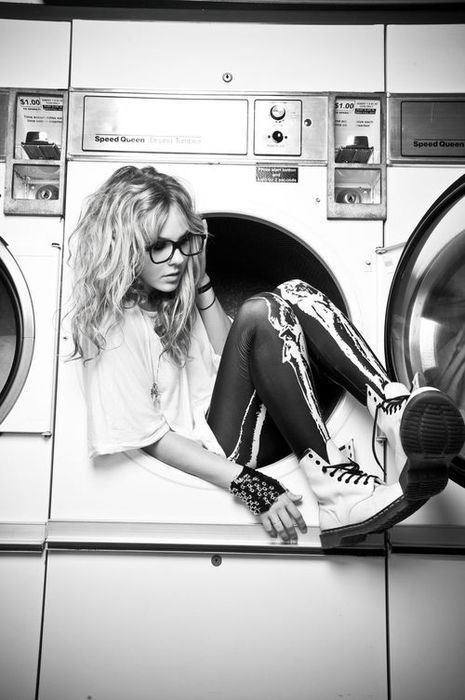 b&w, black and white, boots, cool, cute, cutesy pie, fashion, girl, glasses, hair, photo, photography, rock, skinny, style
