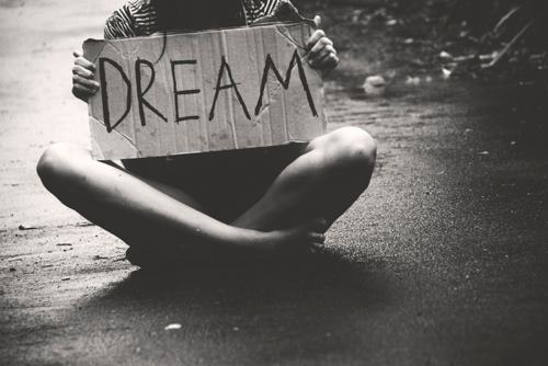 b&,w, black and white, dream, sign - image #455229 on ...