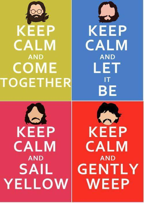 band, come toqether, cool, gently weep, george harrison, john lennon, keep calm, let it be, music, nirvana, paul mccartney, ringo starr, sail yellow, song, the beatles