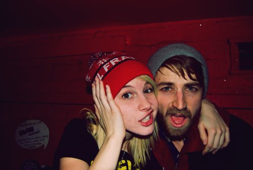band, cute, hayley, hayley williams, jeremy, jeremy davis, loves, paramore