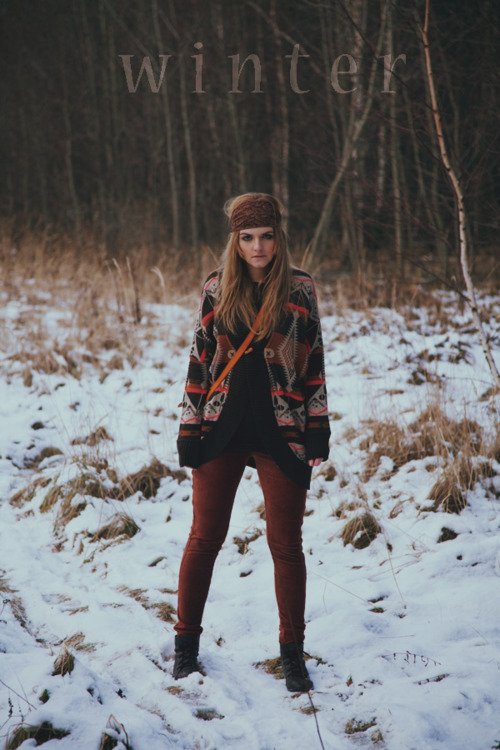 basistka, boho, fashion, hair, hippie, indie, snow, vintage, winter