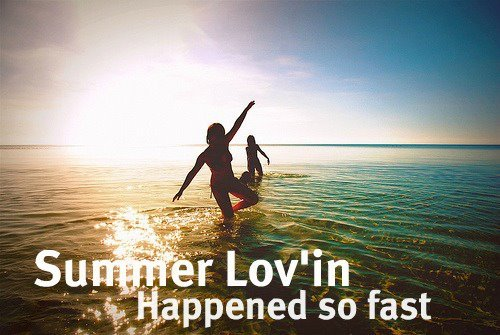 beach, blue, fast, girls, intage, love, sea, shine, song, summer, sun, swimsuit, water, white, yellow