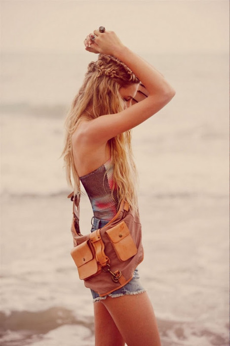 beach, fashion, hair