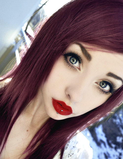 beautiful, beauty, blogger, cool, dyed