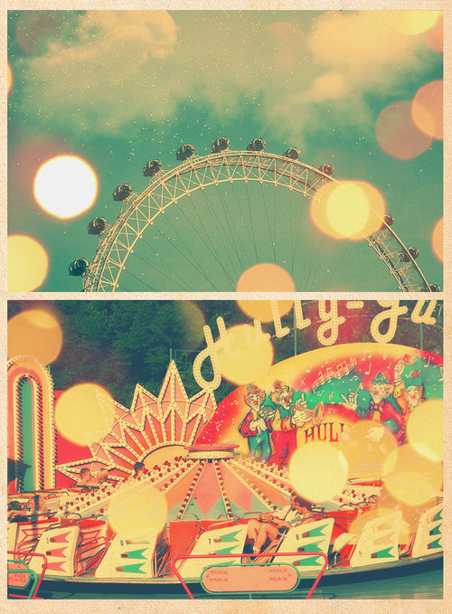 beautiful, beauty, circus, cute, fun, image, light, park, photograph, photography, pretty, sweet, vintage