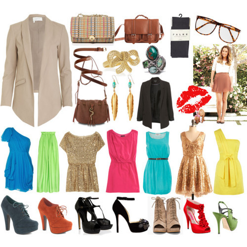 beautiful, beauty, clothes, colors, dress