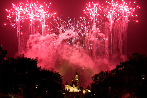 beautiful, beauty, cute, disney, disney land, disneyland, firework, fireworks, fun, image, light, lights, mickey, mickey mouse, photograph, photography, pink, pretty, sweet, ticket