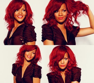 beautiful, beauty, everything, fashion, hairstyle, love, mode, red hair, rihanna, style