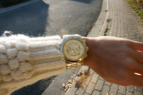 beautiful, beige, girl, girly, gold, luxury, pretty, rich, watch