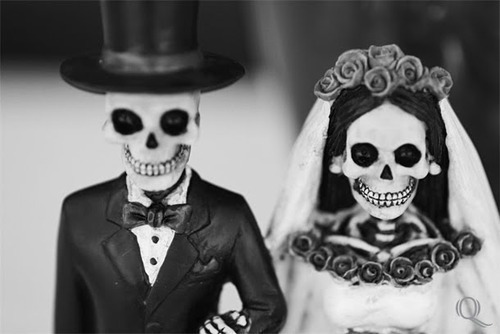 beautiful, black and white, corpse, couple, love