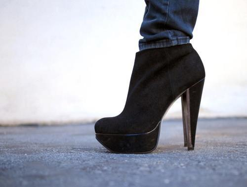 beautiful, black, fashion, shoes