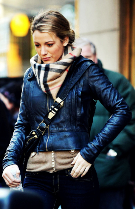 beautiful, blake lively, blonde, burberry, girl, gossip girl, serena van der woodsen