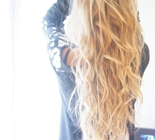 beautiful, blonde, curls, girl, hair