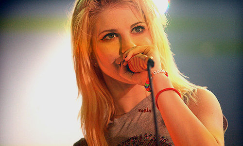 beautiful, blonde, cute, girl, hayley