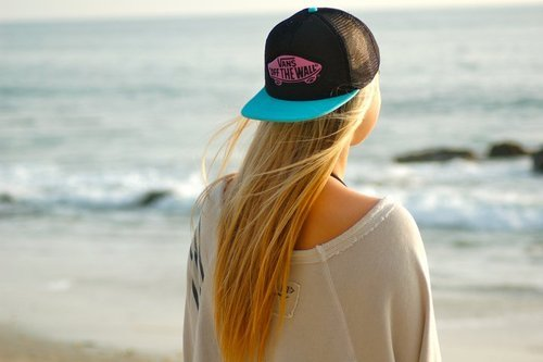 beautiful, blonde, cute, girl, ocean, photography, pretty, she will be loved, vans