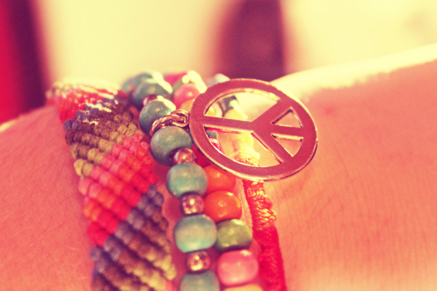 beautiful, blue, bracelet, color, colors