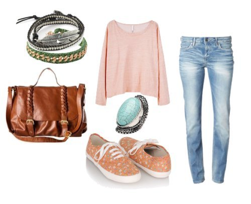 beautiful, blue, brown, cool, cute, fashion, flower, green, jean, pink