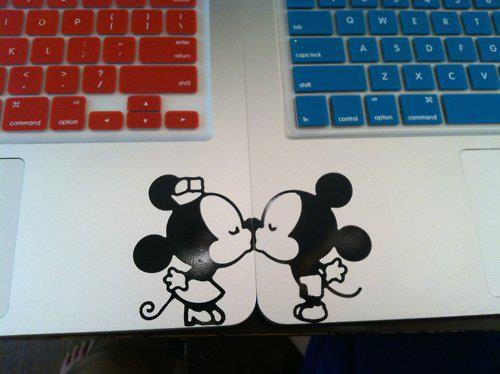 beautiful, blue, cute, disney, keyboard