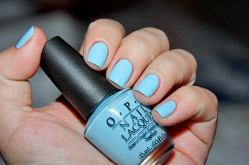 beautiful, blue, cute, fashion, girl, guy move, love, nail polish, nails, opi, photography, pretty, sweet, want