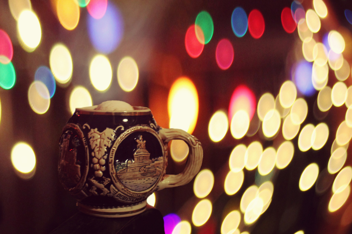 beautiful, bokeh, christmas, coffee, cute