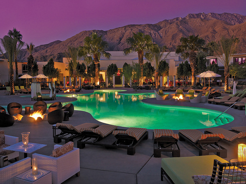 beautiful, bonfire, luxury, mountains, pool