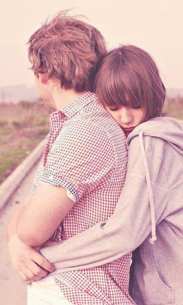 beautiful, boy and girl, cute, eyes, forever, hug, love, romance, romantic, together