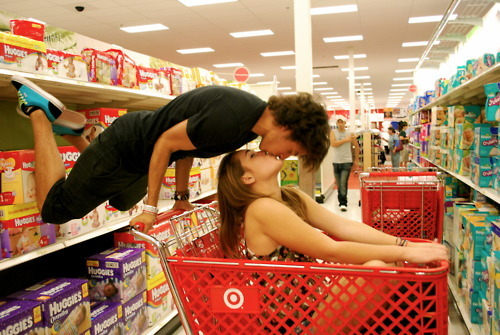 beautiful, boy, cute, girl, kiss, store