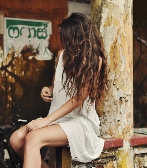 beautiful, brunette, fashion, girl, hair