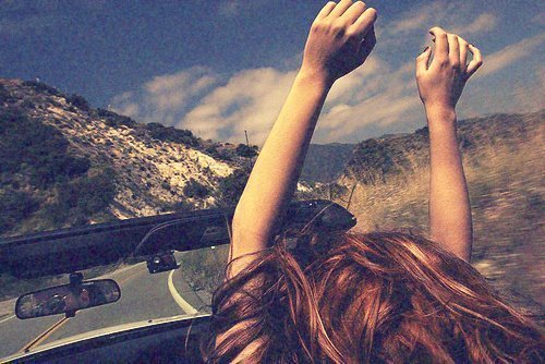 beautiful, car, drive, driving, free, hair, happy, photography, sky, winter