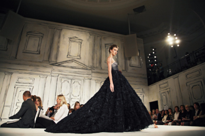 beautiful, catwalk, couture, dress, fashion