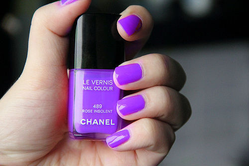 beautiful, chanel, girl, girlish, nail polish
