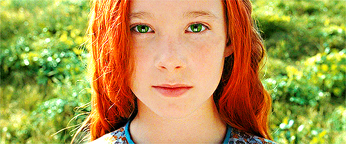 beautiful, child, eyes, film, ginger
