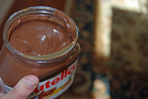 beautiful, chocolate, delicious, food, nutella