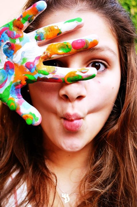 beautiful, color, colors, cool, fish-lips, friends, fun, girl, girls, love, pain
