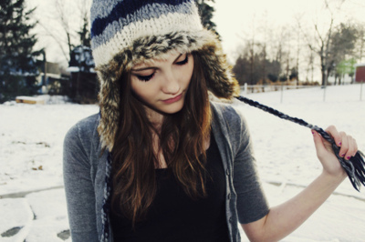 beautiful, cool, cute, girl, snow