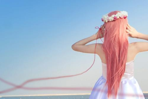 beautiful, cute, girl, hair, pink hair