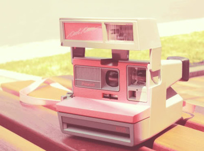 beautiful, cute, photography, pink, polaroid