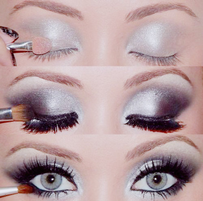 beautiful, eye shadow, eyes, fashion, girl, porn makeup, style