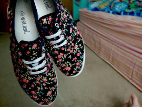 beautiful, floral, shoes, west seal