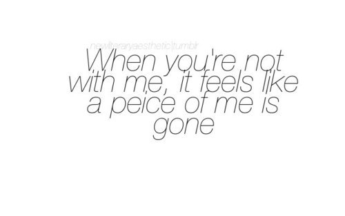 beautiful, gone, hearts, love, missing you, peice, peice lol, quotes, without you