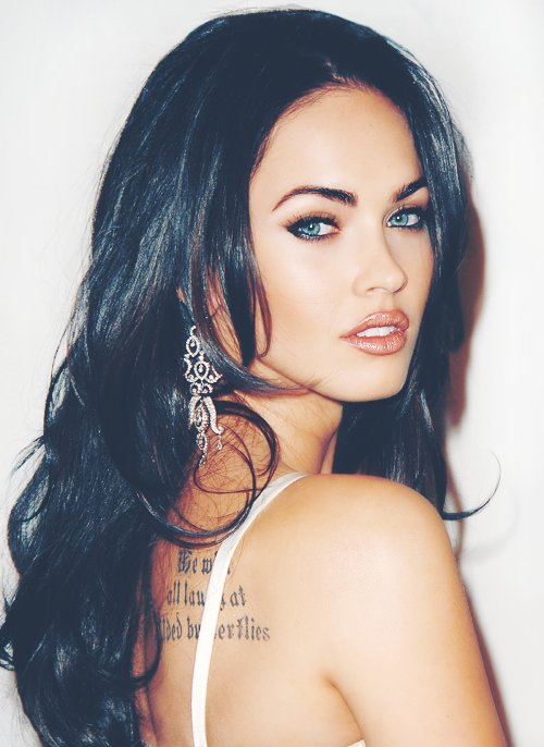 beautiful, hair, megan fox