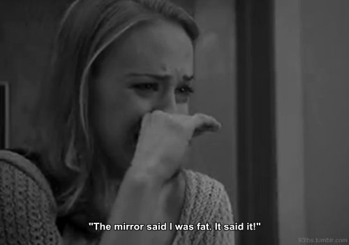 beauty, black and white, blonde, crying, fat