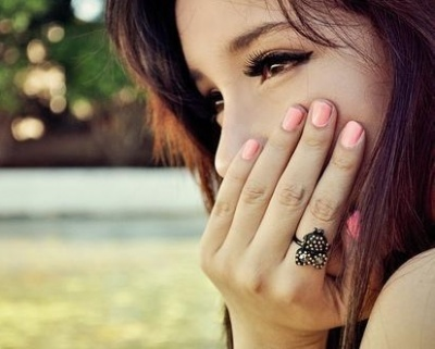 beauty, brown, cute, eyelashes, eyes, girl, nails, pretty, sweet