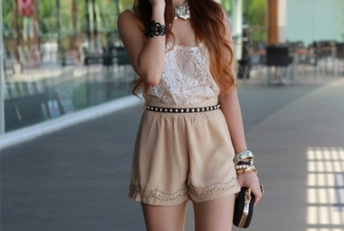 beauty, clothes, cool, cute, fashion, fashionable, girl, hair, lace, model, ootd, photography, playsuit, pretty, shorts, style, stylish, top, woman