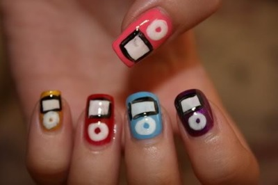 beauty, eyes, ipod, nails